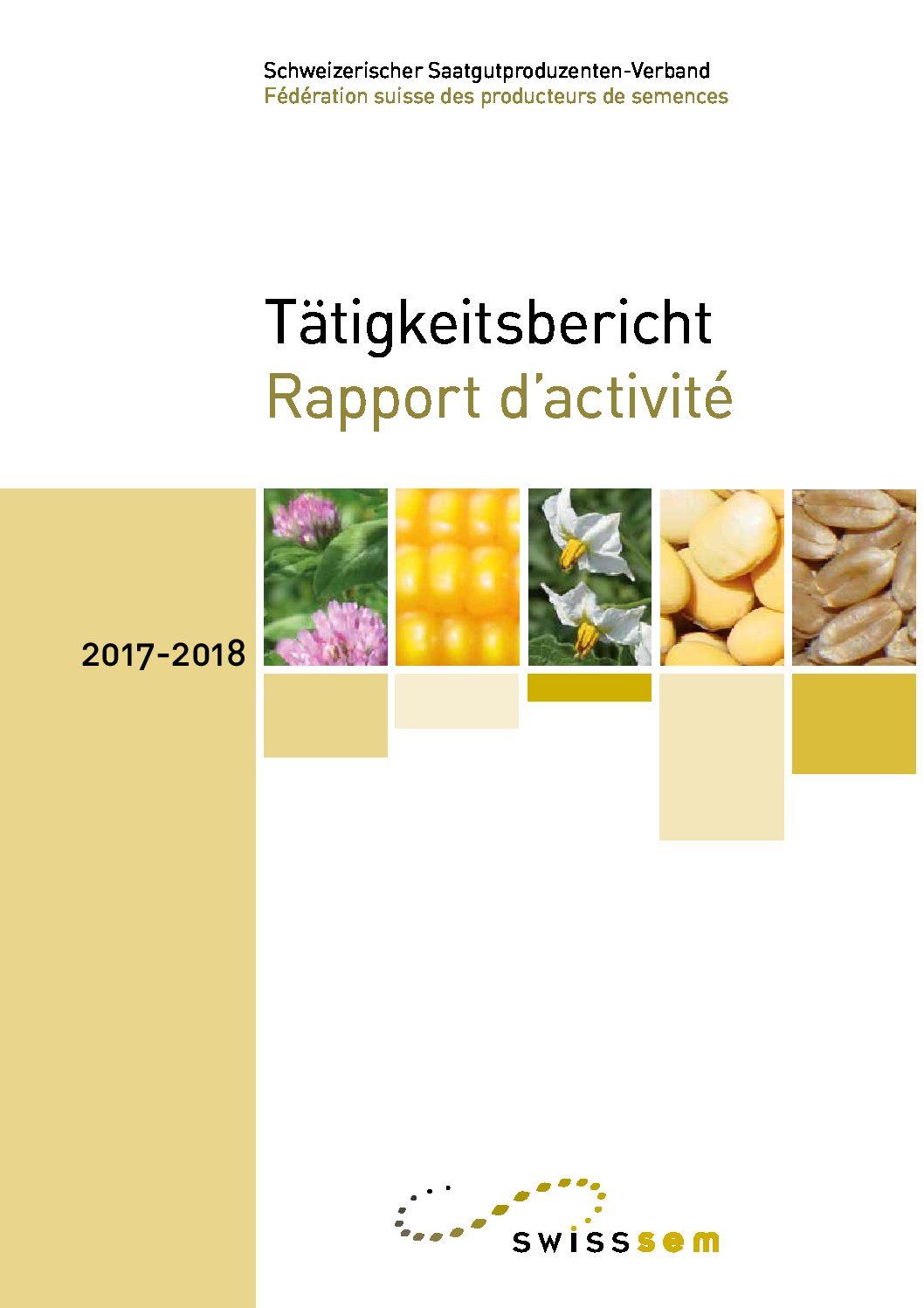 Tätigkeitsbericht 2017-2018