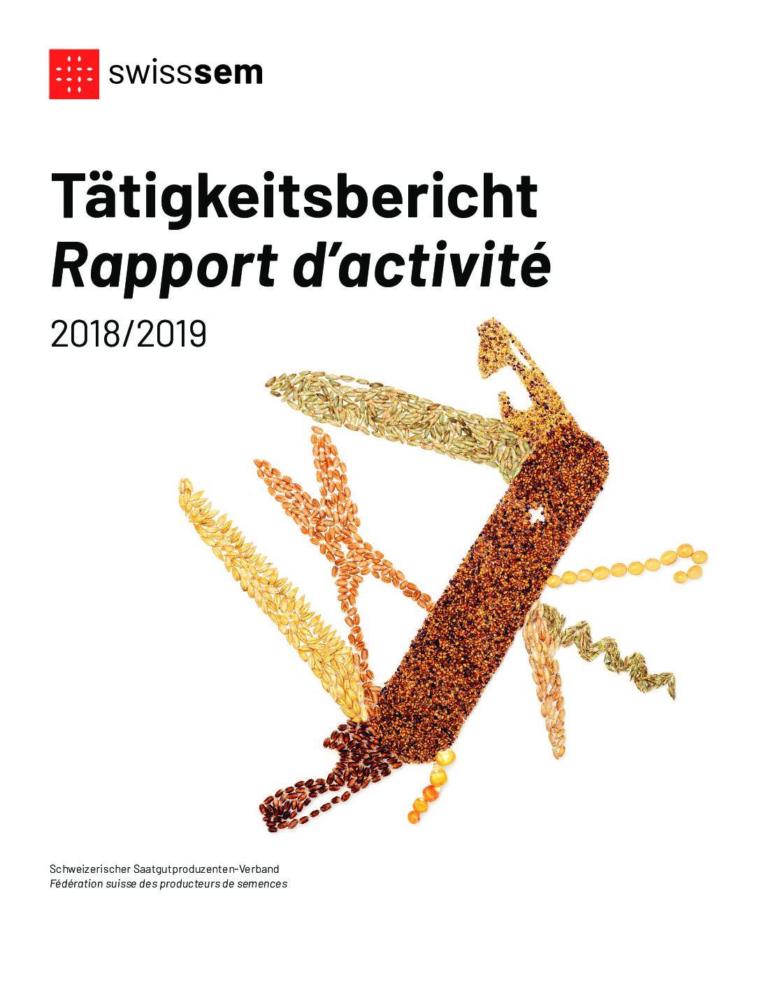 Tätigkeitsbericht 2018-2019